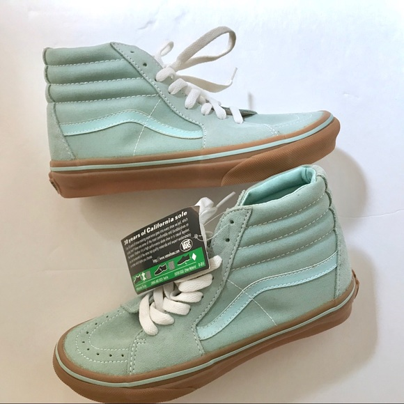 f9c323ea96 Vans - NWT rare Tiffany blue Suede sneaker - 5.5-6